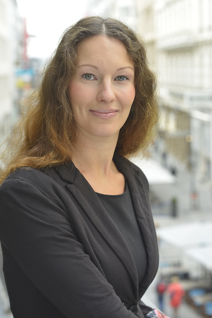Bernadette Kühlmayer. Kanzleileitung Fleissner Künstl Stocker Rechtsanwälte. Kanzlei Wien.