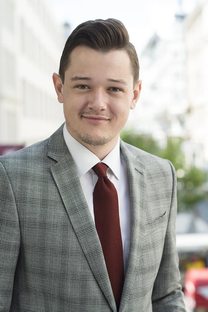 Nikolaus Fleissner. Rechtsanwaltsanwärter. Kanzlei Fleissner Künstl Stocker. Rechtsanwälte.